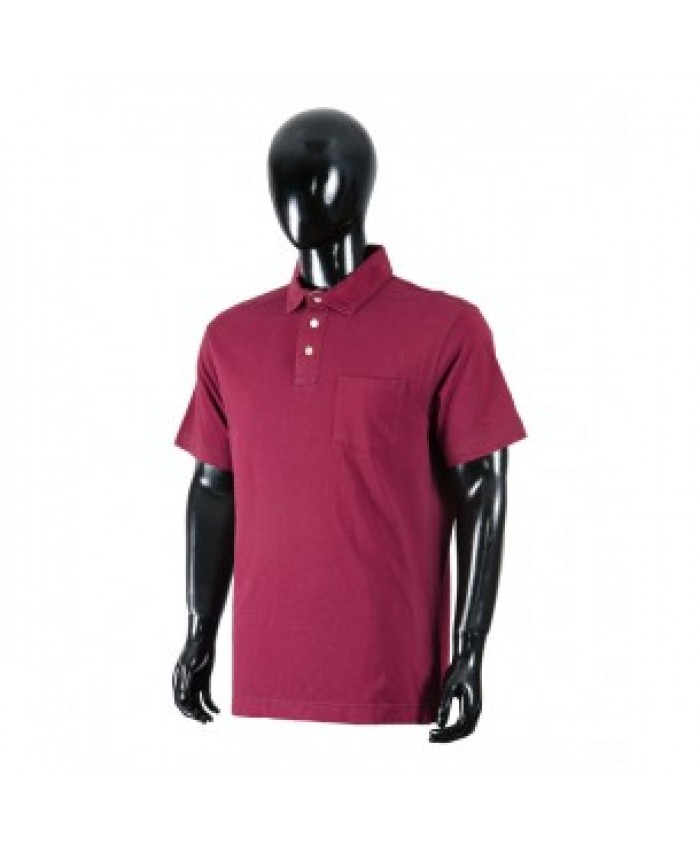 MEN'S BASIC POLO SHIRT WITH FRONT