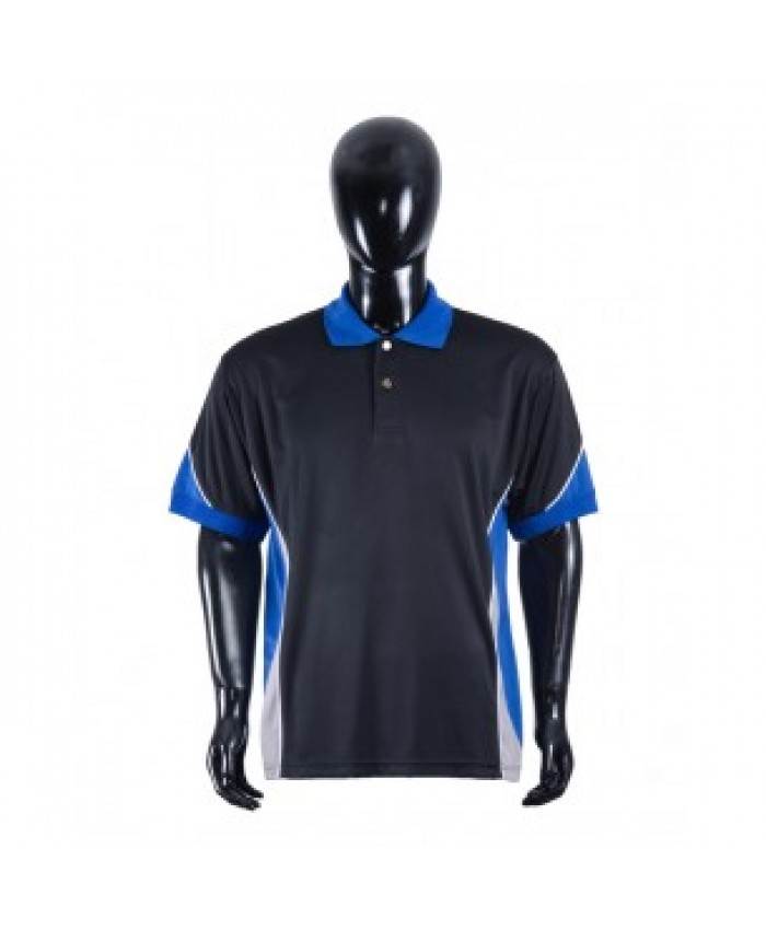 MEN'S SPORTS POLO SHIRT WITH KNITTED